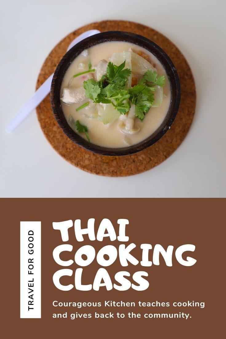 Thai Cooking Class In Bangkok Benefits Local Youth Thai Cooking Class Cooking Thai Cooking