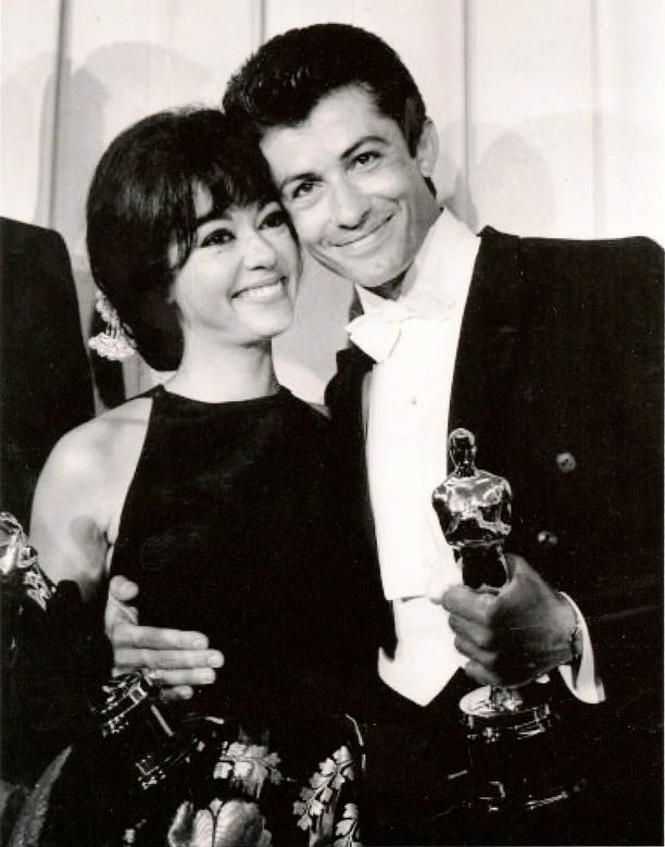 """West Side Story"" won Academy Awards for Best Picture, Best Supporting Actor (George Chakiris) and Best Supporting Actress (Rita Moreno)."