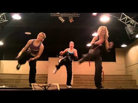 Killer on the legs and abs. Try this zumba video today!