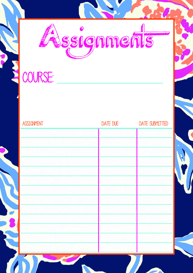 Course Assignment Overview. Free Download. | Study.Read.Write