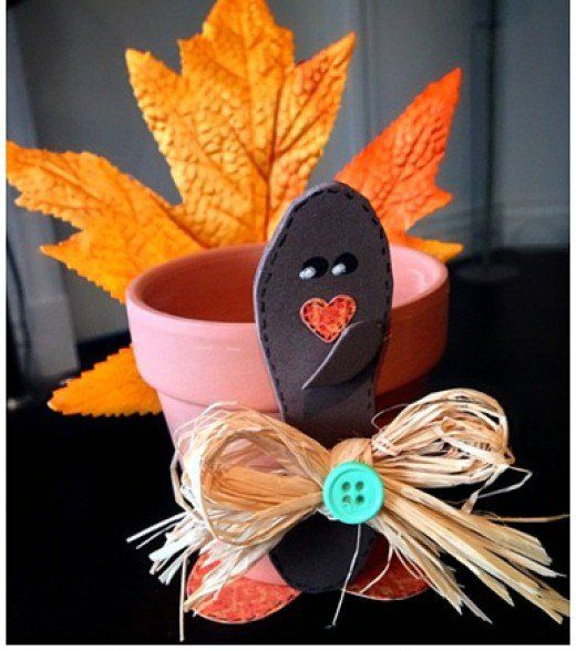 128 best images about clay pot crafts on pinterest for Diy thanksgiving crafts