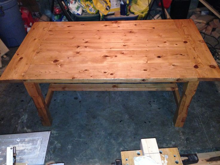 Farm Table Custom Made At Barleycorn Woodworks, Northwood, NH