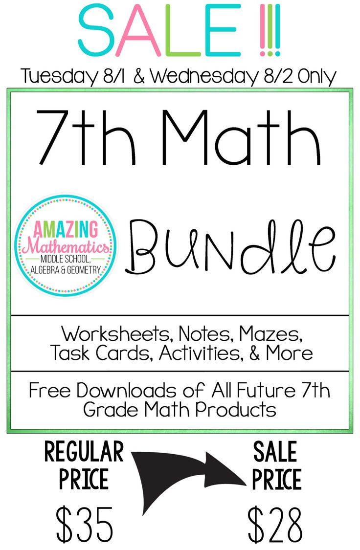 worksheet 7th Grade Math Worksheet 337 best 7th grade math worksheets activities ideas and test prep bundle all my products for 1 low price