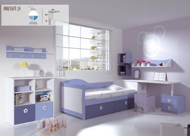 Mejores 160 im genes de mobiliario juvenil morado lila en for Mobiliario habitacion juvenil