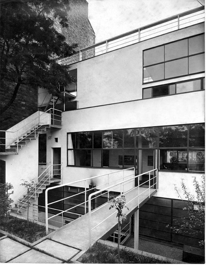 Maison planeix paris architettura le corbusier paris - Casas de le corbusier ...