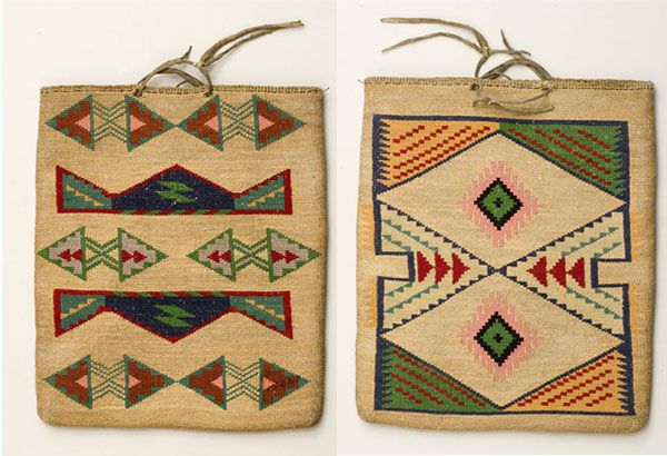 Native American Basket Weaving Instructions : Photo see caption below textiles