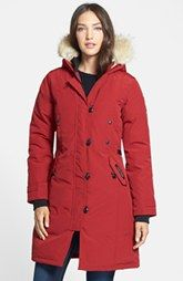 Must have.. if i ever live in a cold climate again Canada Goose 'Kensington' Down Parka