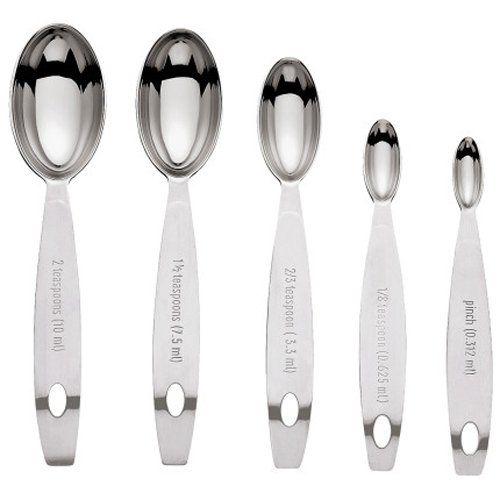 Cuisipro Stainless Steel Measuring Spoon Set, Odd Sizes. Kitchen  ToolsKitchen ...