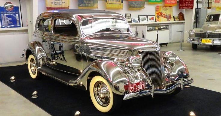1936 Ford Stainless Steel Tudor Deluxe Touring Sedan Model 68-700 | Sia Magazine
