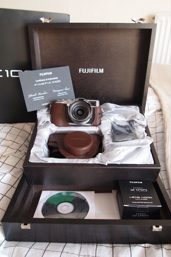 Fujifilm X100 $1400    how modest of me to put this on my wishlist. haah :)