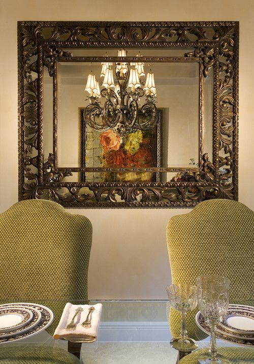 34 best images about dining room mirrors on pinterest for Large dining room wall