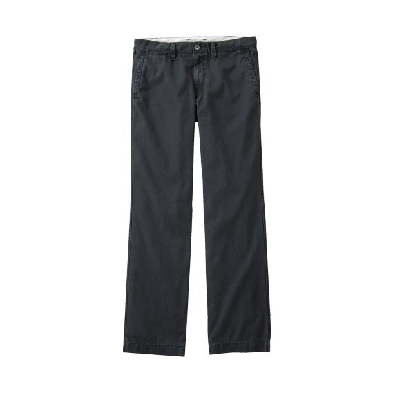 Washed Flat Front Chino A