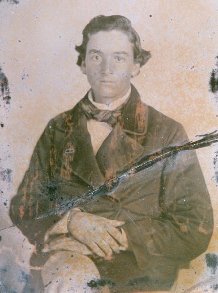 "Pvt. Austin Troy Jenks (Jinks), Company H, ""North Carolina Tigers"", 47th Infantry Regiment, North Carolina. Died at Gettysburg 1 July 1863. He and some fellow soldiers were going into the town of Gettysburg to get new shoes, and surprised a Union regiment.  dmw"
