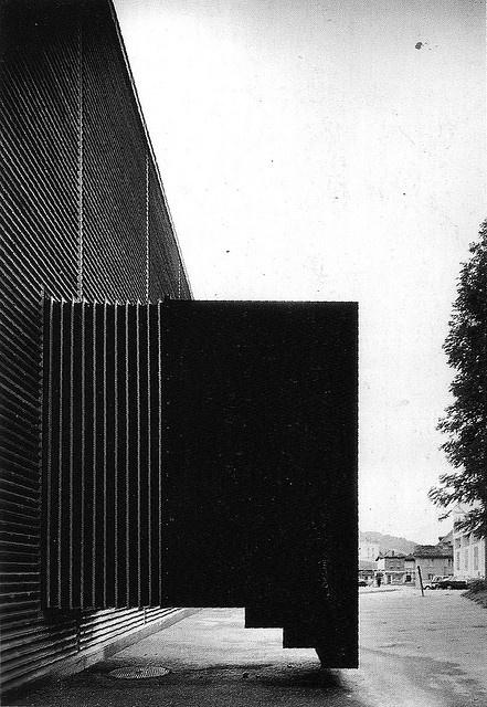 Shelters for Roman archaeological site (Schutzbauten für römische Funde). Chur, Switzerland. Peter Zumthor, 1986