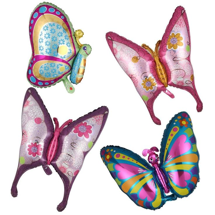 Butterfly Shape Foil Balloon Birthday Wedding Anniversary Party 4 Pattern in Home, Furniture & DIY, Celebrations & Occasions, Party Supplies | eBay!