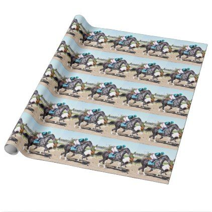 Just Call Kenny Wrapping Paper - horse animal horses riding freedom