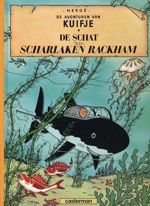 Kuifje (De avonturen van) -12- De Schat van Scharlaken Rackham