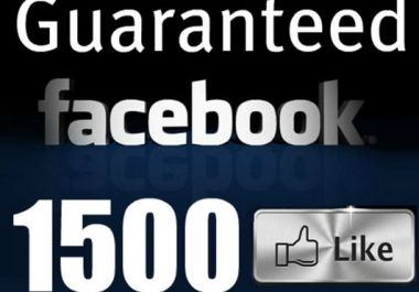 add 2.215+ High Quality Facebook Likes, Fans to yo... for $19