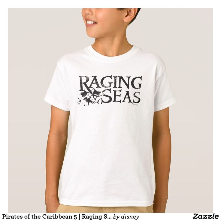 Pirates of the Caribbean 5 | Raging Seas. Customizable product available in Zazzle store. Producto personalizable disponible en tienda Zazzle. #camiseta #shirt
