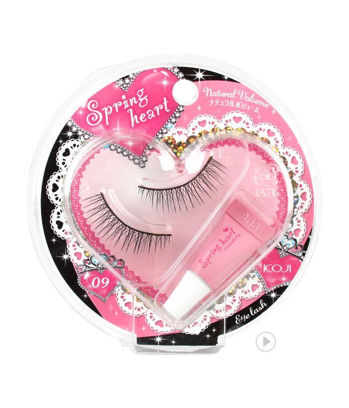 Spring Heart Eyelash 09 Natural Volume
