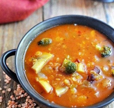 Jesienna zupa warzywna