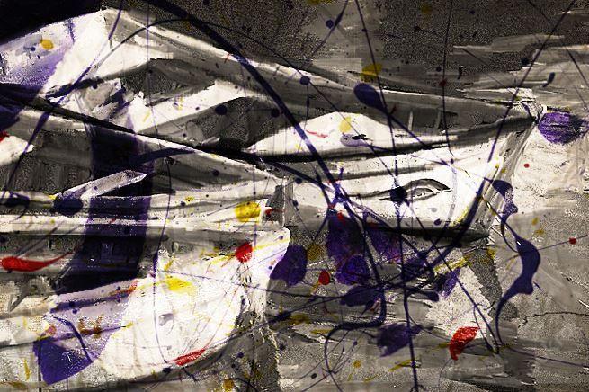 Obraz Lodky - styl Abstrakce