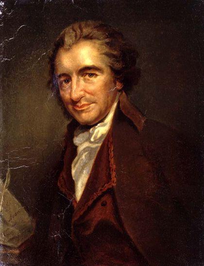 """Thomas Paine was the author of """"Common Sense"""""""