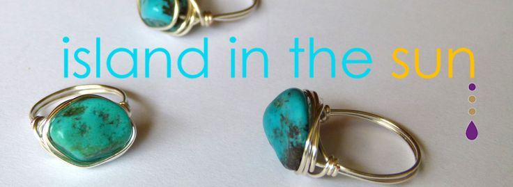Check out our Hawaiian imported turquoise in the Island in the Sun collection.