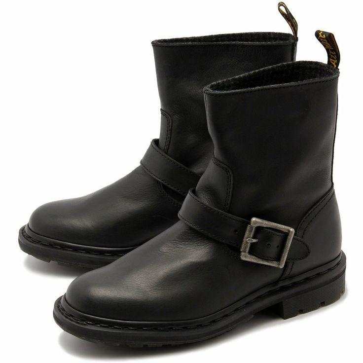 ドクターマーチン メグ バイカー アンクル ブーツ 15262001 15262201 DR.MARTENS MEG BIKER ANKLE BOOT レディース エンジニア ブーツ