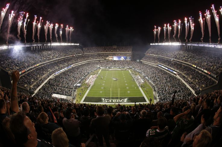 Lincoln Financial Field Eagles Temple Fly Eagles