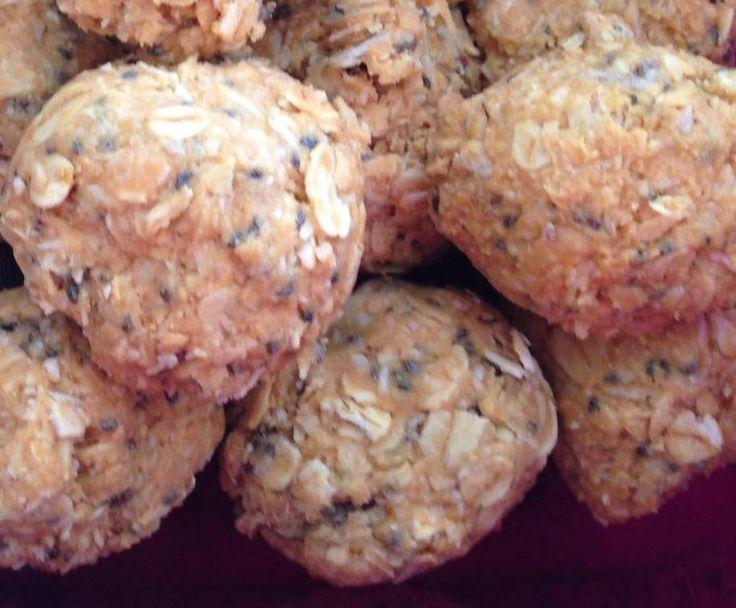 Recipe Musli bites lunch box snacks by charleeneyeington - Recipe of category Baking - savoury