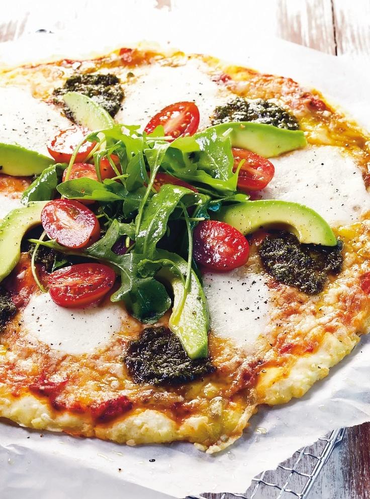 Mozzarella-rucolasalaattipizza (gluteeniton) | Italia | Pirkka #food