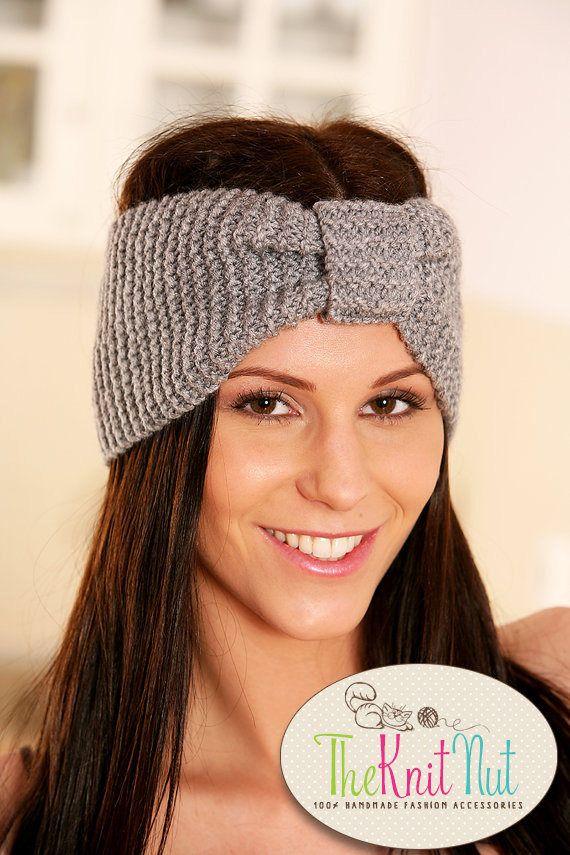 "❣"" Knit Headband, Knit Ear Warmer, #Winter Headband, Turban Headband, Knit... theknitnut http://etsy.me/2AIFGL0"