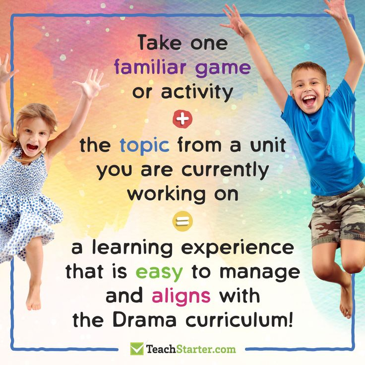 A simple approach to teaching Drama for primary school teachers to use!