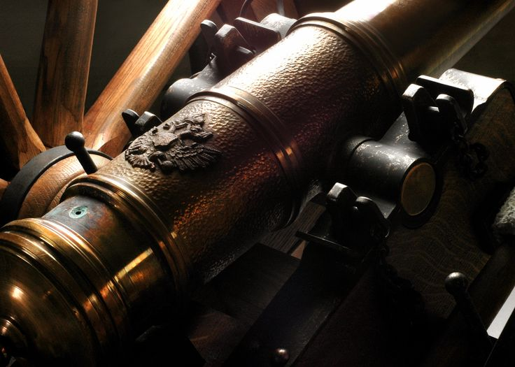 detail of the cannon, weapon, gun, history, napoleon, war