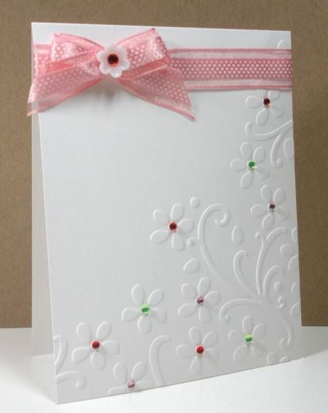 simple and effective, i love this embossing folder.
