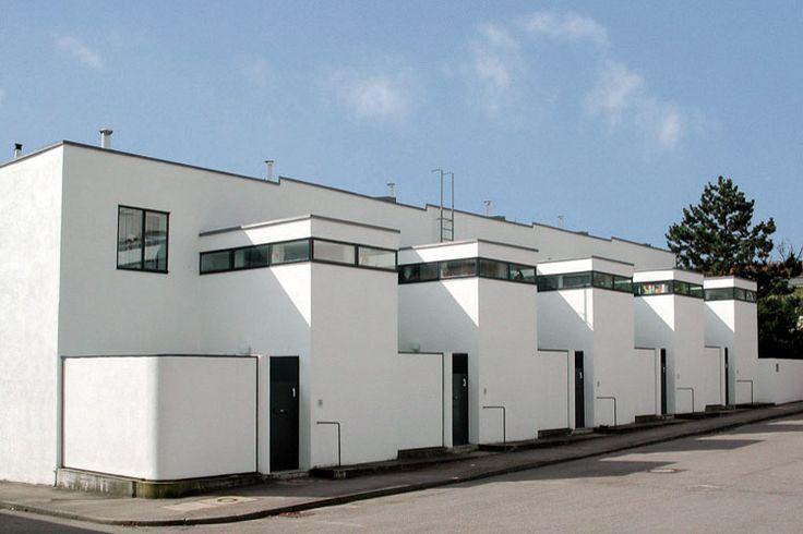 Häuserzeile Weißenhofsiedlung in Stuttgart: Der Chef ist man selbst während der...