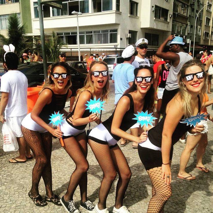 Fantasia de Anitta faz sucesso neste Carnaval (@pilarpicon) (Foto: Reprodução/Instagram)