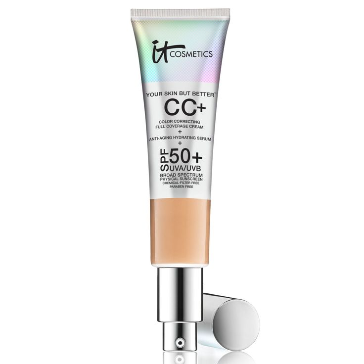 The Best Foundations for Oily Skin - It Cosmetics Your Skin But Better CC Cream SPF 50+