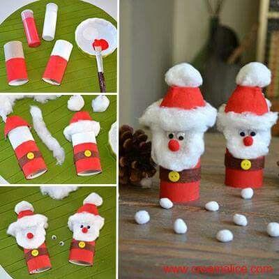 Kerstman van een wcrol