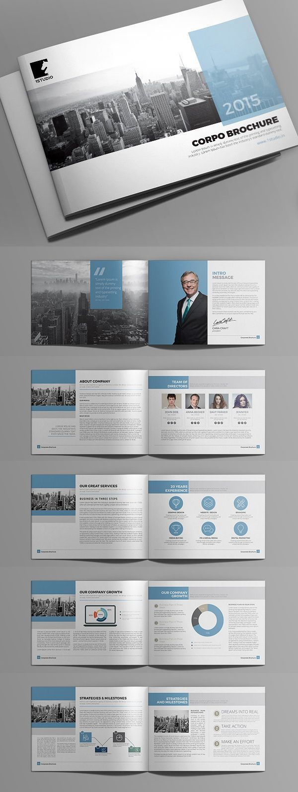 fundraising brochure templates