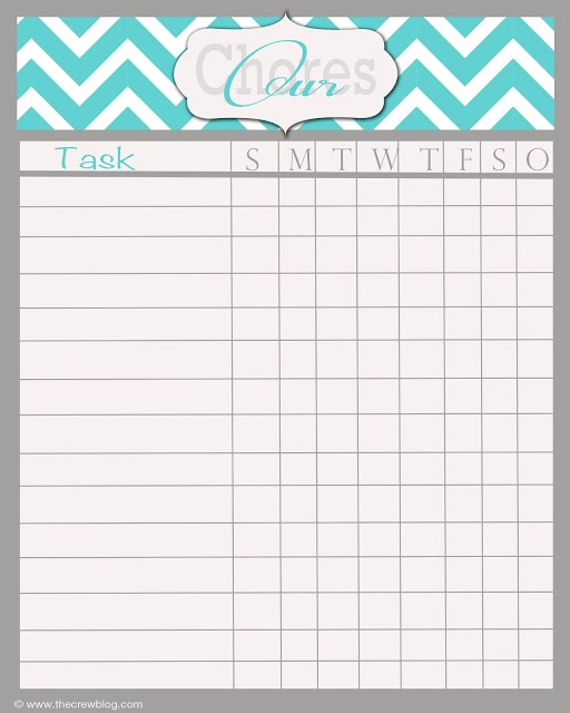 Best 25+ Weekly chore charts ideas on Pinterest | Housekeeping ...