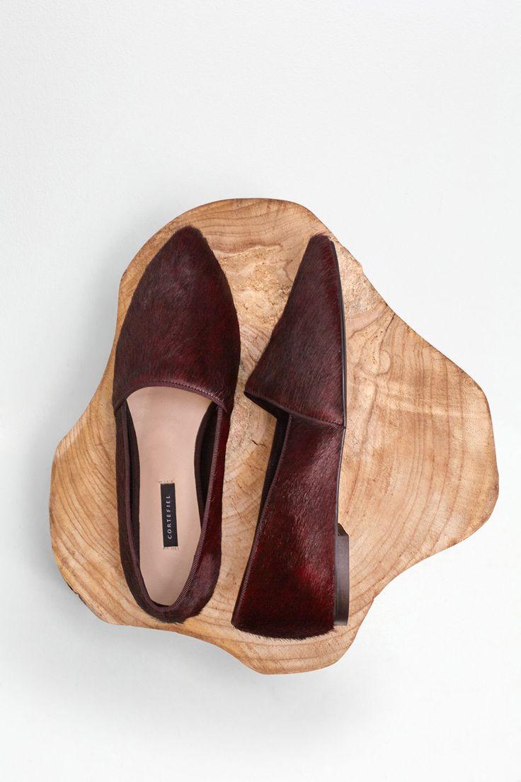 Bailarina pelo.   Zapatos   Cortefiel