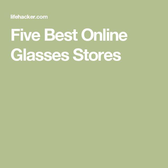 Five Best Online Glasses Stores