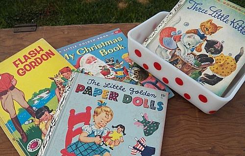 SentimentallyMe * Flea Market Finds! Sweet Little Golden Books: Paper Dolls, Little Golden Books, Dolls Extreme