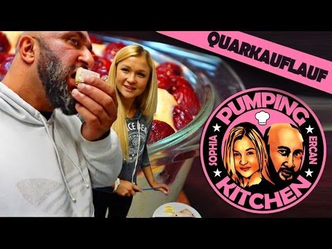 Pumping Kitchen: Protein Quarkauflauf mit Ercan - YouTube