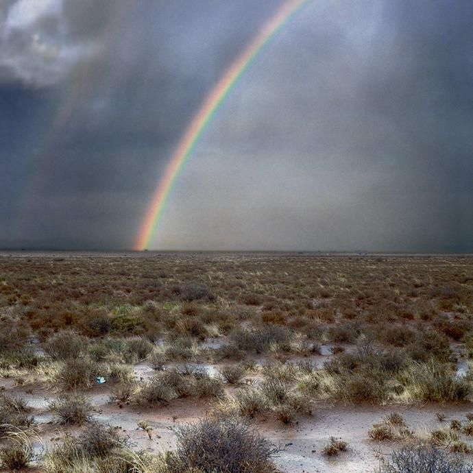 Daniel Naude - Rainbow. Hanover, Northern Cape, 2 November 2009
