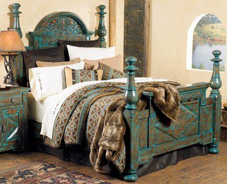 Western Decor, Western Furniture & Cowboy Decor  #Westerns Furniture, Guest Bedrooms, Bedrooms Sets, Western Furniture, Beds Frames, Cowboy Decor, Westerns Decor, Western Decor, Popular Pin