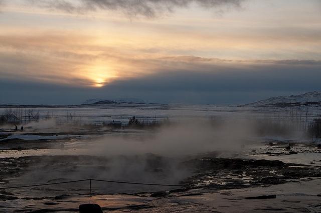 Hot Geysir - Iceland