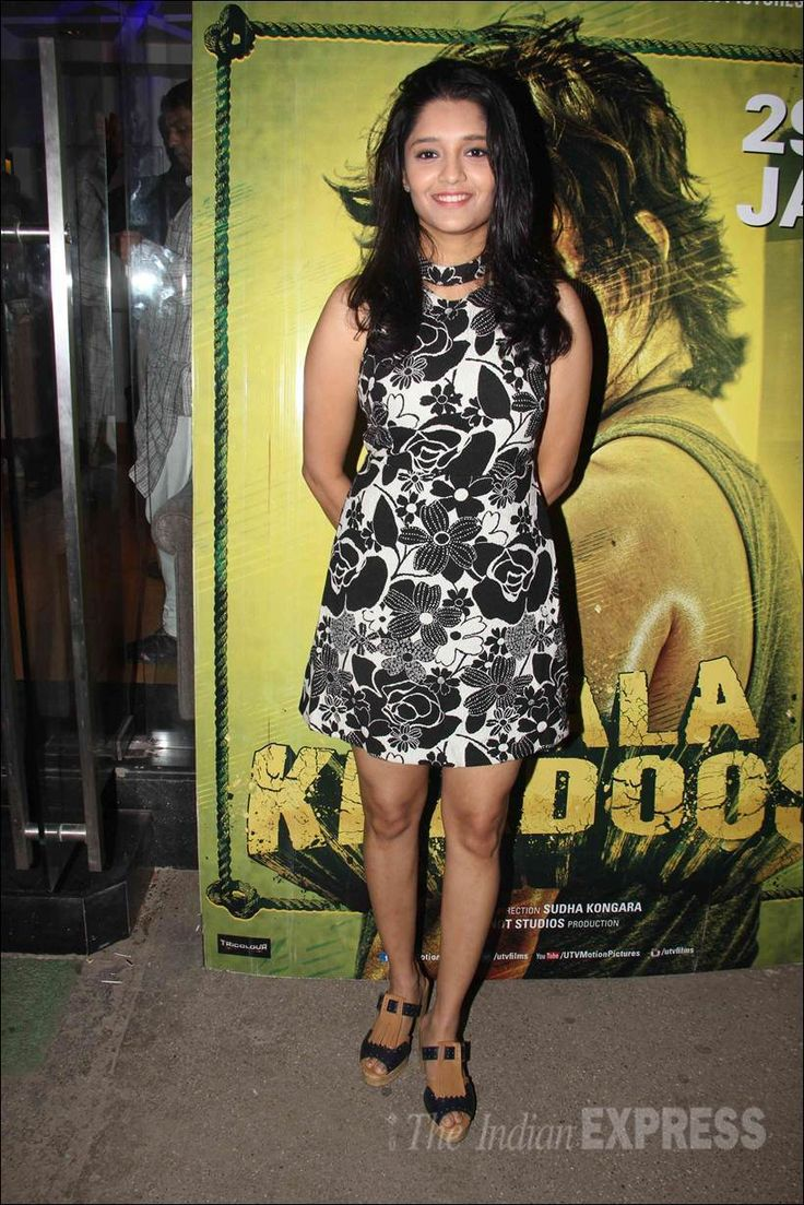 Ritika Singh at Saala Khadoos screening. #Bollywood #Fashion #Style #Beauty